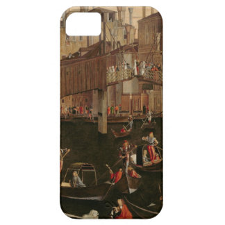 Wooden Rialto Bridge, from the Miracle of the Reli iPhone 5 Cover