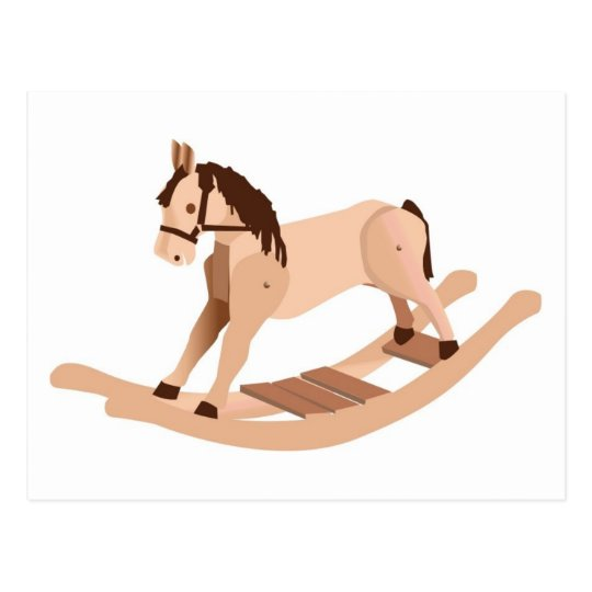 Wooden Rocking Horse Postcard