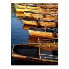 Wooden Row Boats on Derwentwater Postcard