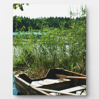 Wooden Rowing Boat Plaque