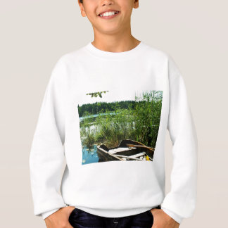 Wooden Rowing Boat Sweatshirt