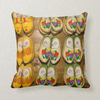 Wooden Shoes, Dutch Village Shop, Noordhuizen Cushion