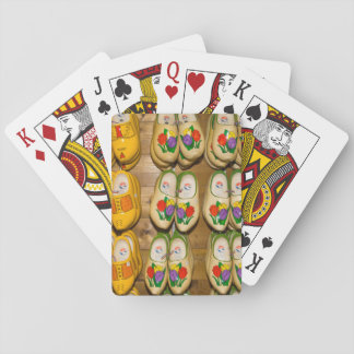 Wooden Shoes, Dutch Village Shop, Noordhuizen Playing Cards
