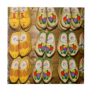 Wooden Shoes, Dutch Village Shop, Noordhuizen Tile