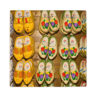 Wooden Shoes, Dutch Village Shop, Noordhuizen Wood Coaster