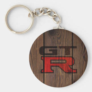 Wooden Simulated GT-R Key Ring