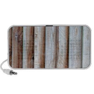 Wooden Slatted Fence Mini Speaker