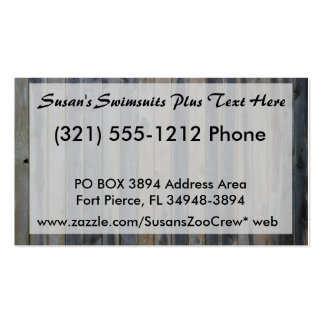 Wooden solid slat fence , perfect background business cards