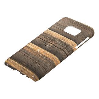 Wooden stern Realistic Texture Samsung case