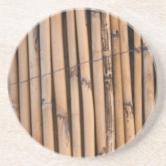 Wooden sticks coaster