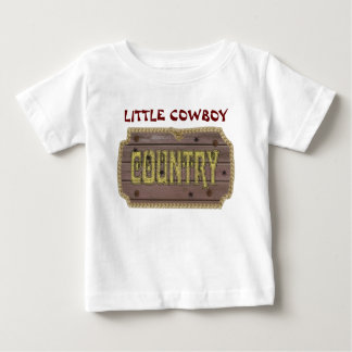 Wooden Style Country and Western Baby T-Shirt