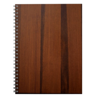 Wooden style note book