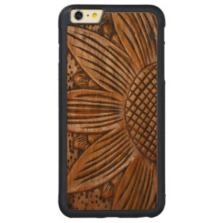 Wooden Sunflower Wood iPhone 6 6S Plus Covers
