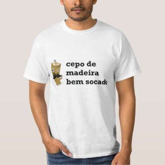 Wooden t-shirt Cepo