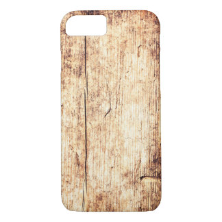 Wooden Texture Background. Rustic Wood iPhone 8/7 Case