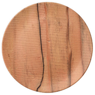 Wooden texture plate