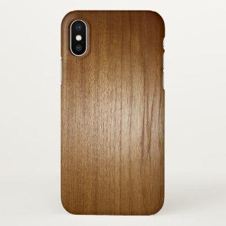 Wooden textures, print, nature iPhone x case