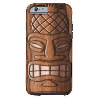 Wooden Tiki Mask Tough iPhone 6 Case