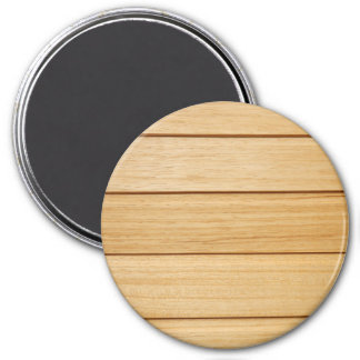 Wooden Tiles Large Round Magnet