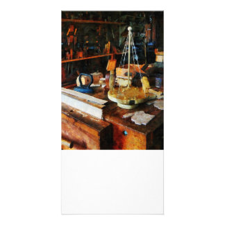 Wooden Toys in Wood Shop Picture Card