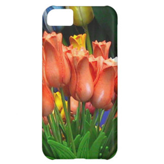 Wooden tulips from Amsterdam iPhone 5C Case