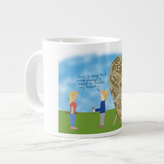 Wooden Valentine Mug