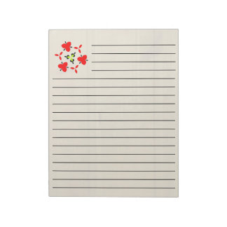 Wooden wall notepad