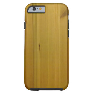 Wooden wall tough iPhone 6 case