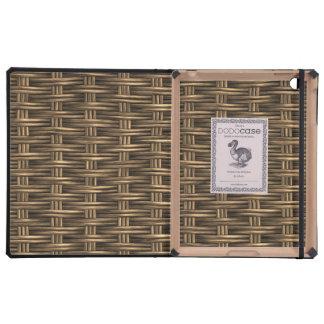 Wooden Weave 2 DODO iPad Folio Cases iPad Folio Case
