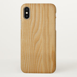 wooden wood nature textures print iPhone x case