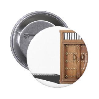 WoodenCastleDoorBrassDetails021613.png Pinback Buttons