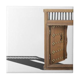 WoodenCastleOpenDoorBrass021613.png Ceramic Tile
