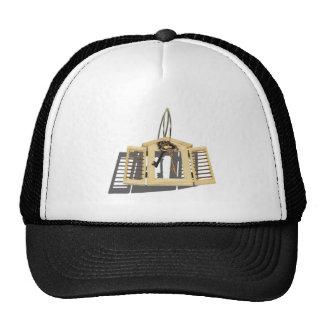 WoodenShutterKeysOnRing090312.png Trucker Hat