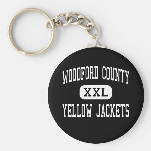 Woodford County - Yellow Jackets - Versailles Key Chain