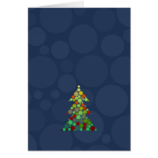 Woodgrain Tree Card