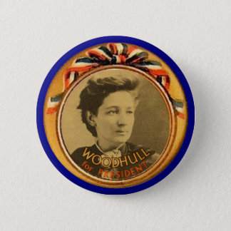 Woodhull for President 6 Cm Round Badge