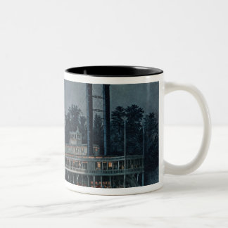 Wooding up' on the Mississippi Two-Tone Coffee Mug