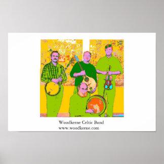 Woodkerne Celtic Band Poster