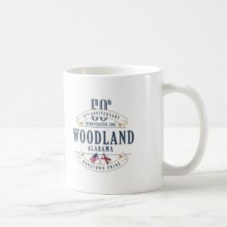 Woodland, Alabama 50th Anniversary Mug