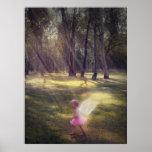 """Woodland Angel"" Print"