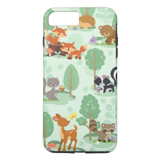 Woodland Animal iPhone 7 Phone Case