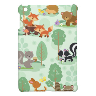 Woodland Animals Apple iPad Mini Case