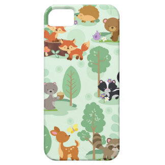 Woodland Animals Apple iPhone SE + iPhone 5/5S iPhone 5 Cover