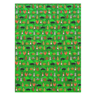 Woodland Animals Tablecloth