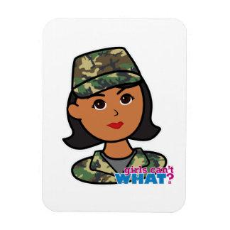 Woodland Army Camouflage Rectangular Photo Magnet