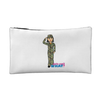 Woodland Army Camouflage Girl Makeup Bags