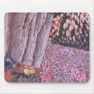 Woodland Autumn Gifts Mouse Pad