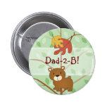 Woodland Bear Button
