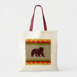 Woodland Bear Tote Bag