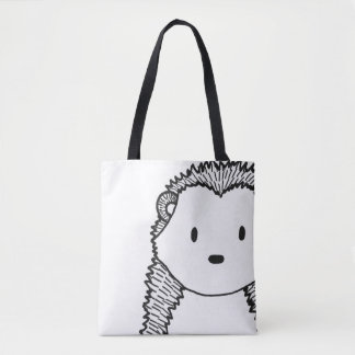 Woodland Black Hedgehog Women's stylish Bag